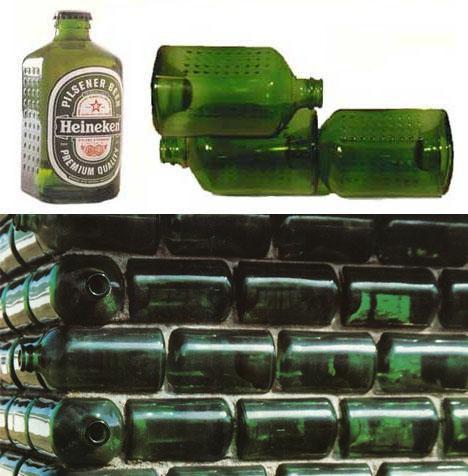 Бутылка, кирпич